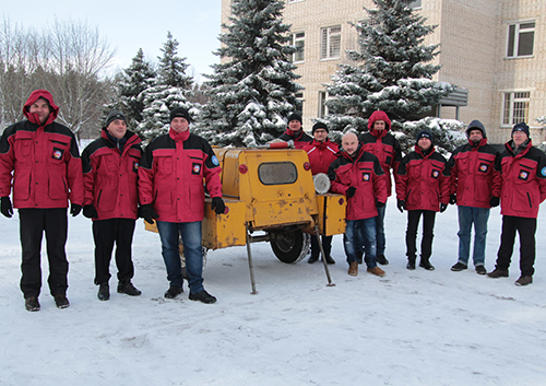 How are Ukrainian polar explorers doing - members of the new expedition to the station Academician Vernadsky were trained