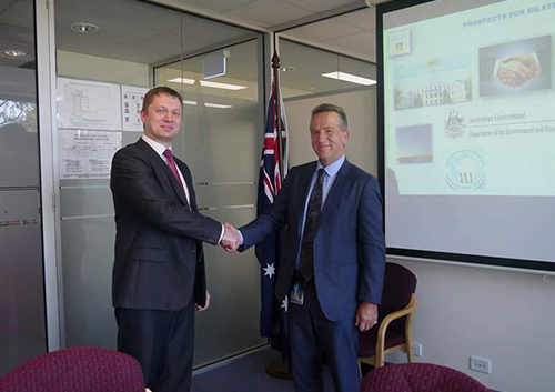 Ukraine and Australia will deepen cooperation in the field of Antarctic research