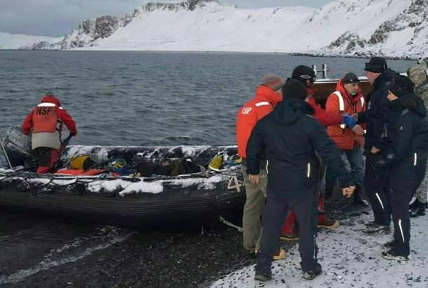 Рятувальна операція в Антарктиді пройшла успішно