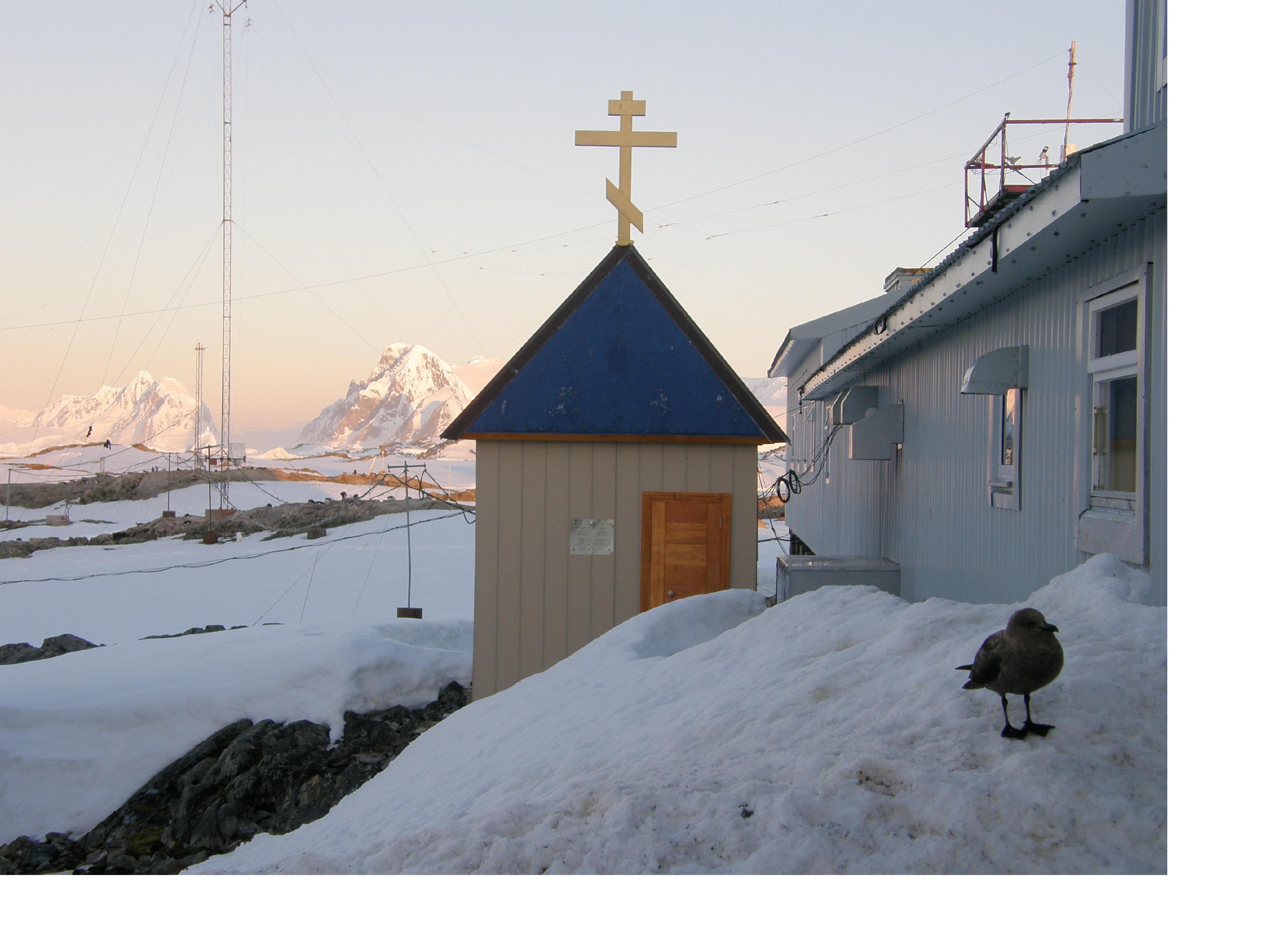 У найпівденнішій каплиці світу на антарктичній станції «Академік Вернадський» українські полярники зустрічають Різдво