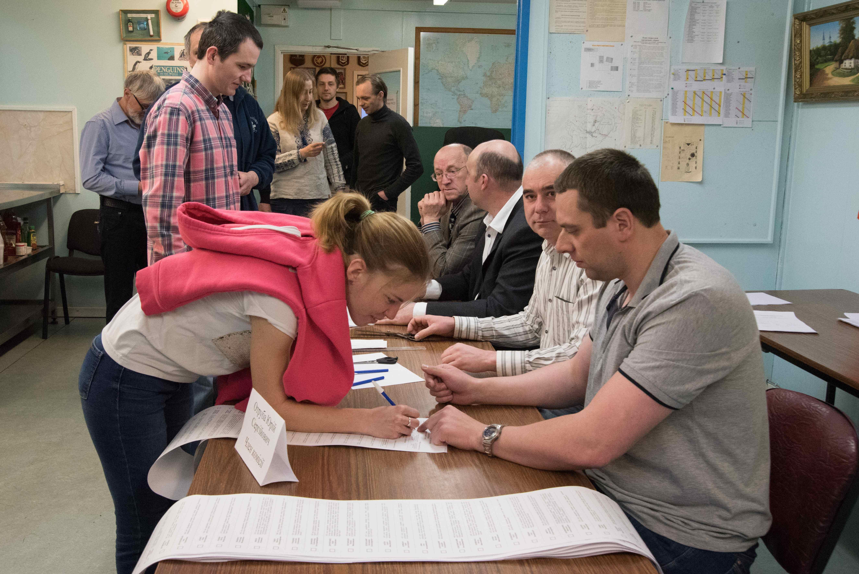 Завершилося голосування на президентських виборах на станції «Академік Вернадський»