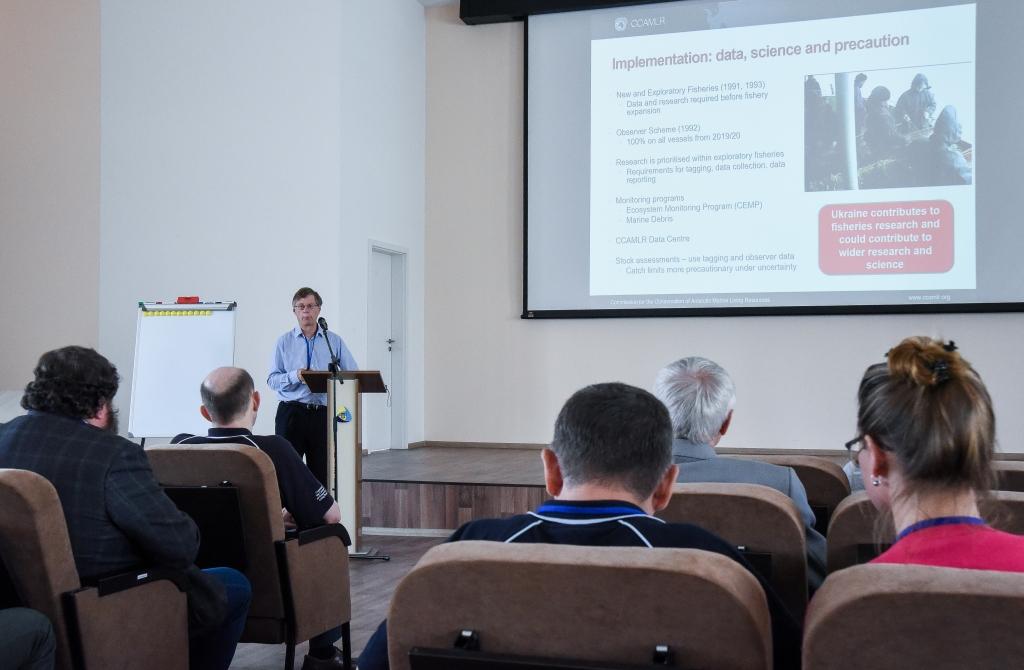 Науковий внесок України у природоохоронні дослідження Південного океану. Перший день семінару ККАМЛР