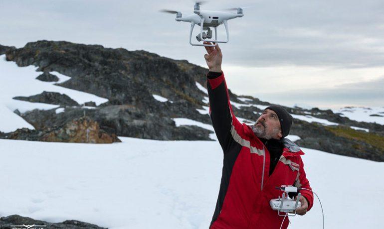Як з допомогою дронів створюють 3D-карти Антарктики (рос.)