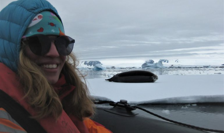 Maria Pavlovska, Researcher of the National Antarctic Scientific Center, received a SCAR grant for innovative research of the Southern Ocean