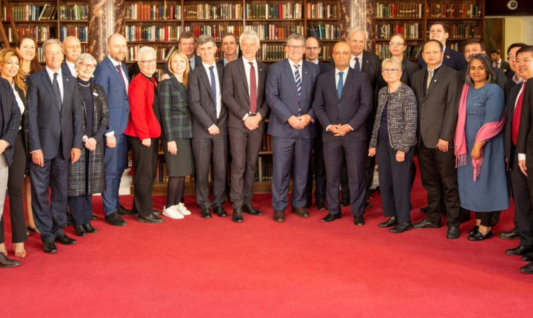 The first ever Antarctic Parliamentarians Assembly took place in London