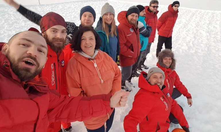 Полярники з Антарктиди підбадьорили українців. Відеозвернення 24 УАЕ