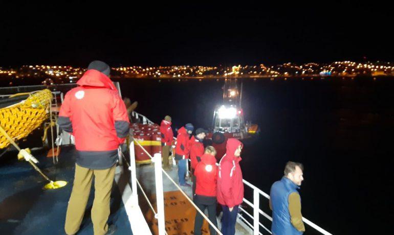 25 УАЕ вирушила з Чилі до Антарктиди. Шлях триватиме щонайменше 5 днів
