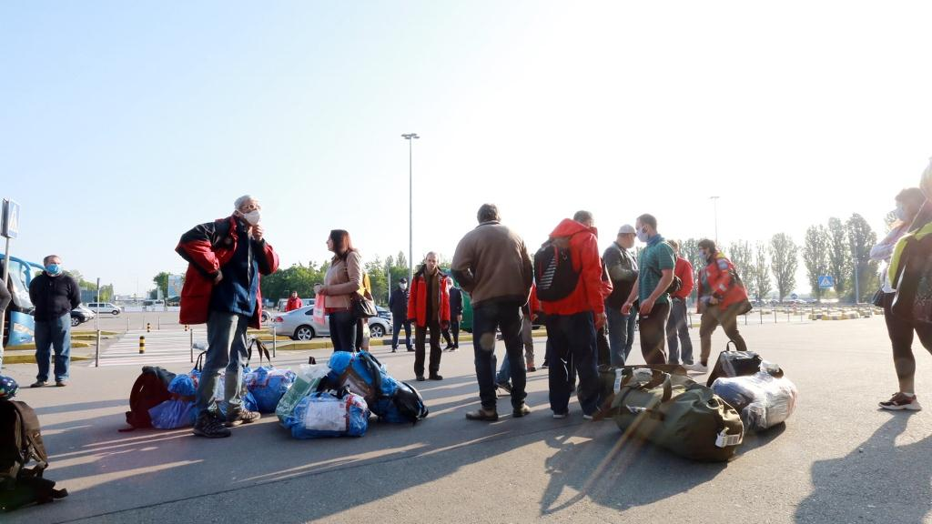 24 UAE and a seasonal team of scientists arrived in Ukraine