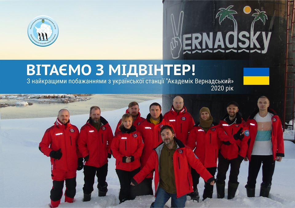 Midwinter is the main holiday for the conquerors of Antarctica