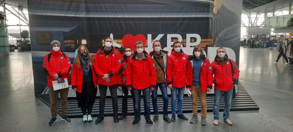 """Команда 26-ї УАЕ в аеропорті """"Бориспіль"""""""