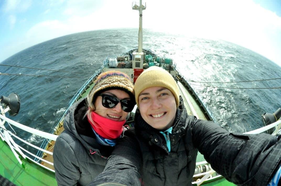 Українські біологині, що 4 місяці досліджували Південний океан, повертаються додому з «уловом»