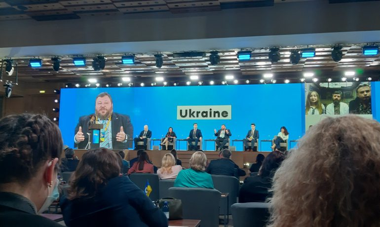 """Antarctica warns that  it is time for mankind to act – said Evgen Dykyi during the forum """"Ukraine - 30. Ecology"""""""