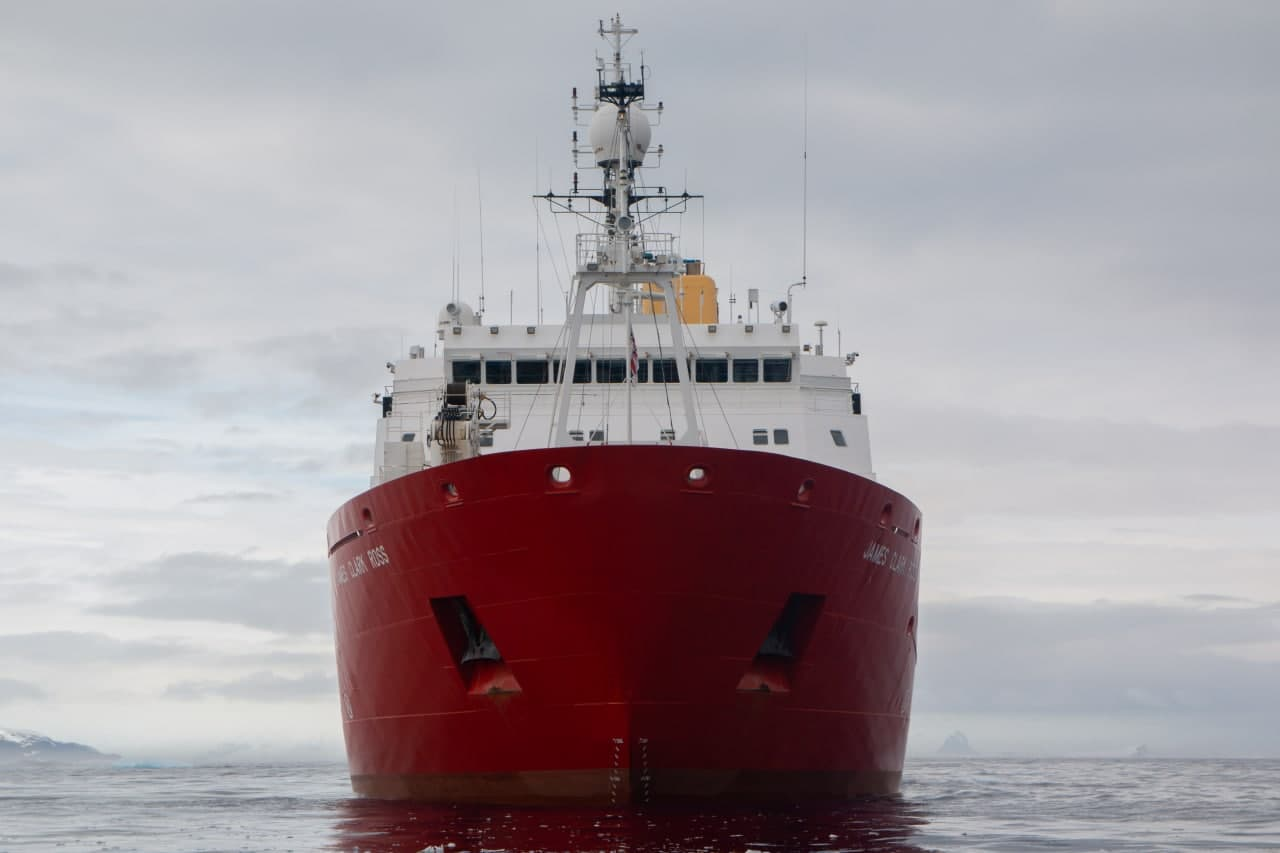 """On the eve of the Independence Day Ukraine has purchased the legendary British ice capable vessel """"James Clark Ross"""""""